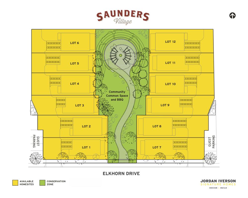 Saunder's Village - N. Gilham
