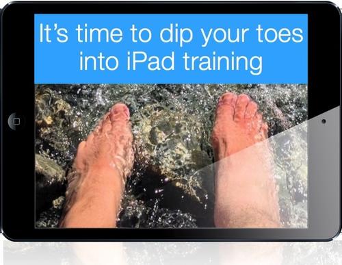 Dip your toes into SAMR + iPad training