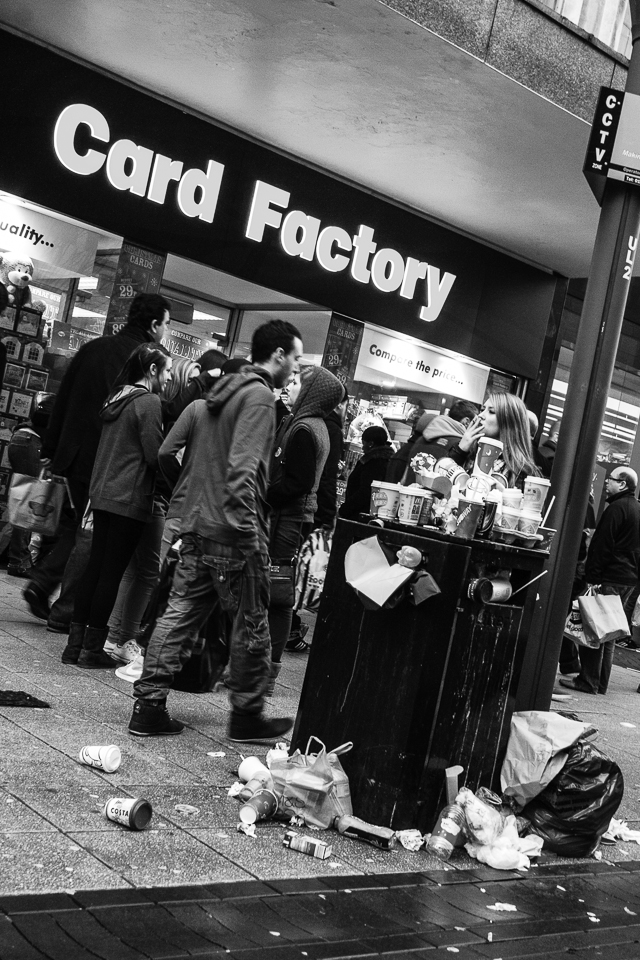 What a Load of… 1/60th at f/8, ISO 1600 (28mm) Many visitors to the city might help fuel the local economy but it does come at a price.