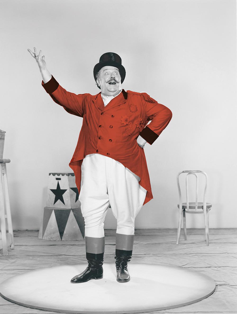 Den matglade cirkusdirektörn