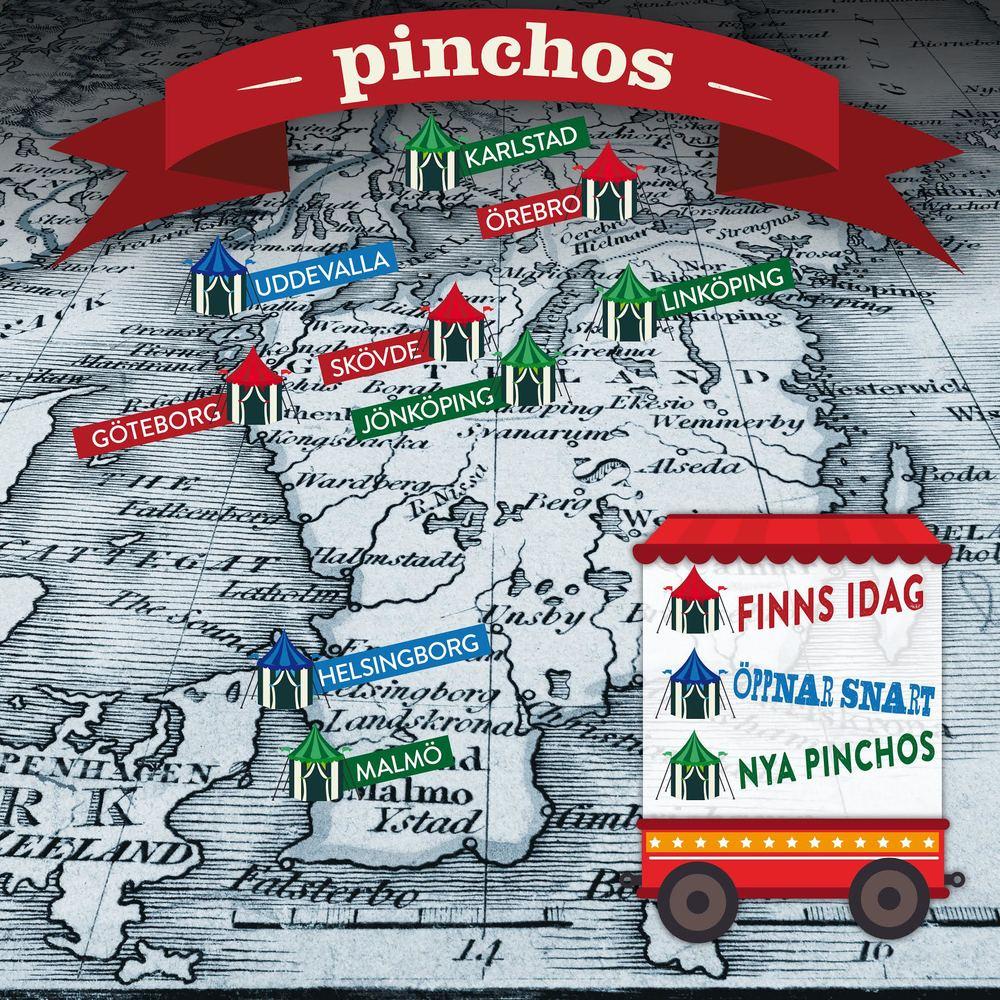 Pinchos restauranger Sverige
