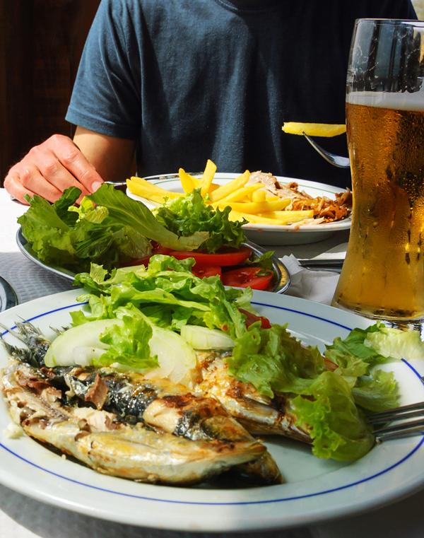 Avslutt en perfekt dag med noe ekstra godt på en av Skjærhaldens mange gode restauranter.
