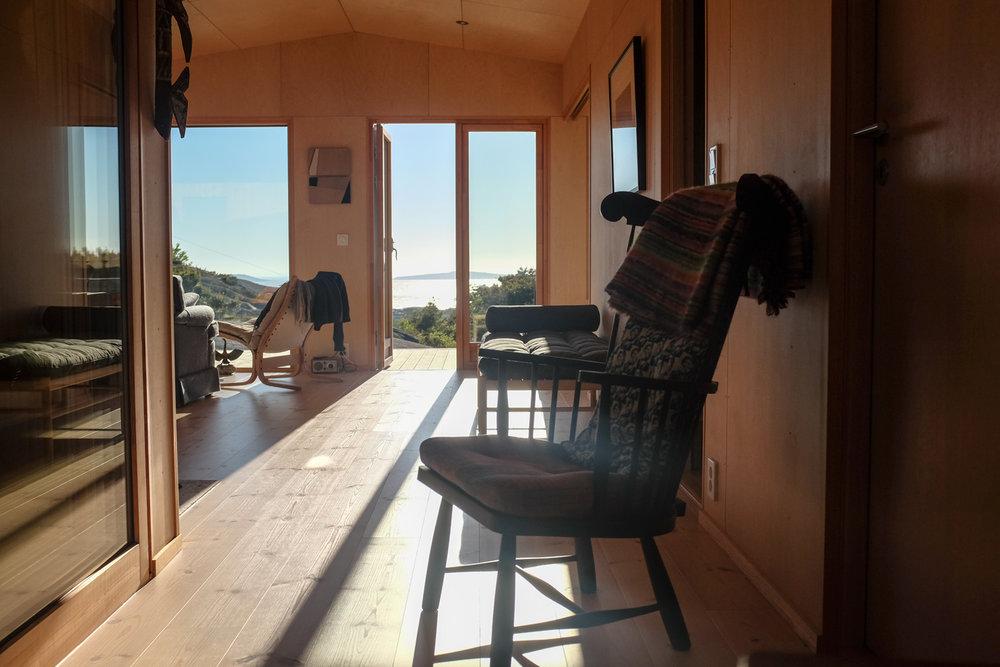 Hytta med utsikt til Søsterøyene