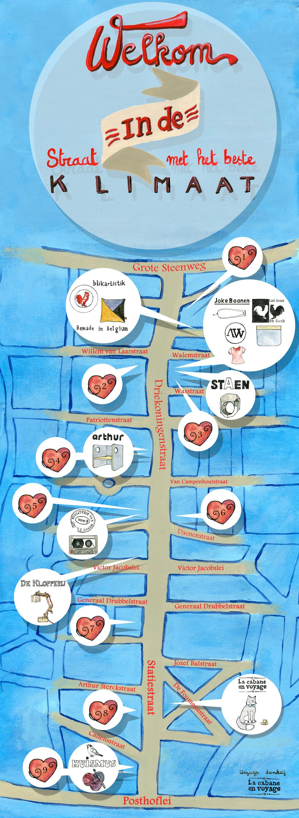 Map pop up