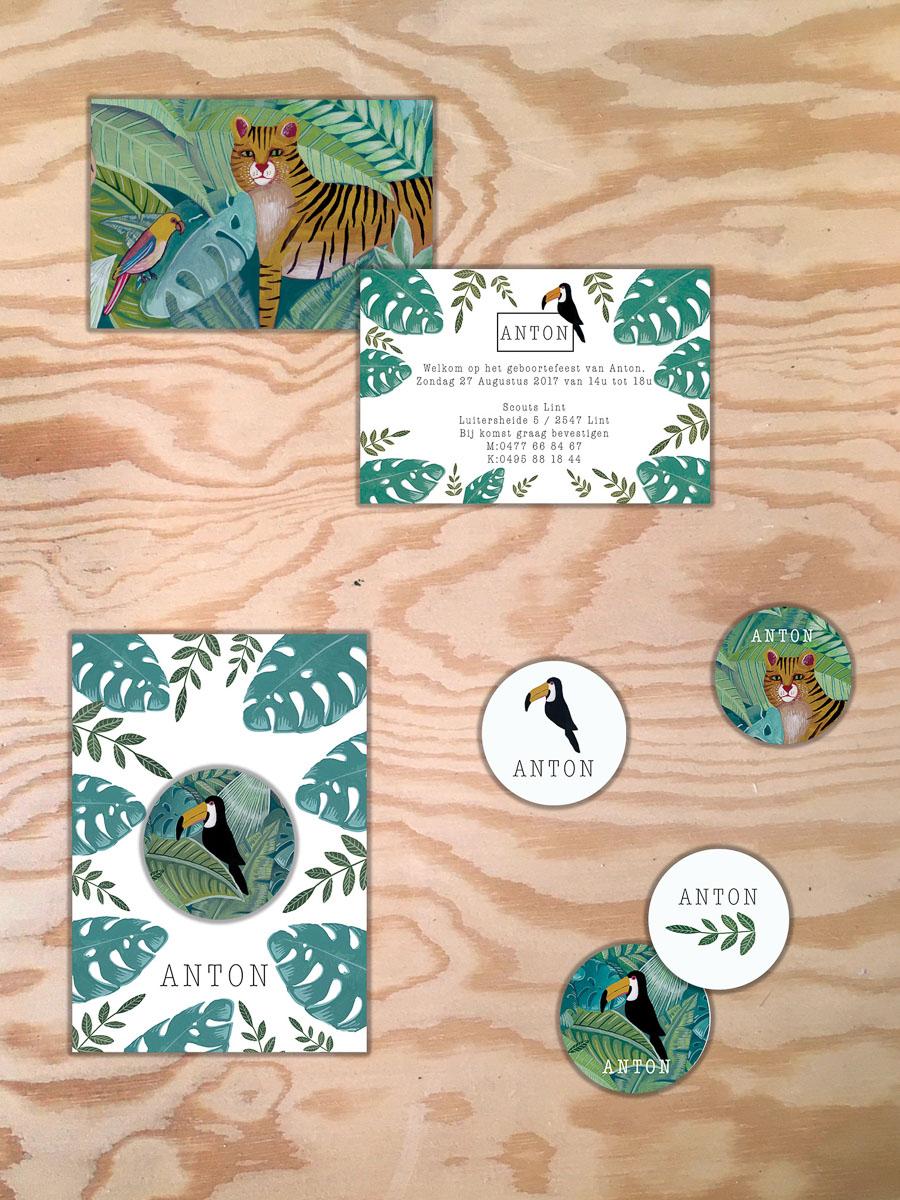 Voor de geboorte van Anton uit Boechout maakte La Cabane en Voyage een schilderijtje op maat. In deze blogpost toon ik je hoe ik van een eerste schets langzaam kwam tot een echt schilderij op maat dat dient als geboortekaartje. La Cabane en Voyage maakt kaartjes op maat of uit collectie in Antwerpen en daarbuiten.
