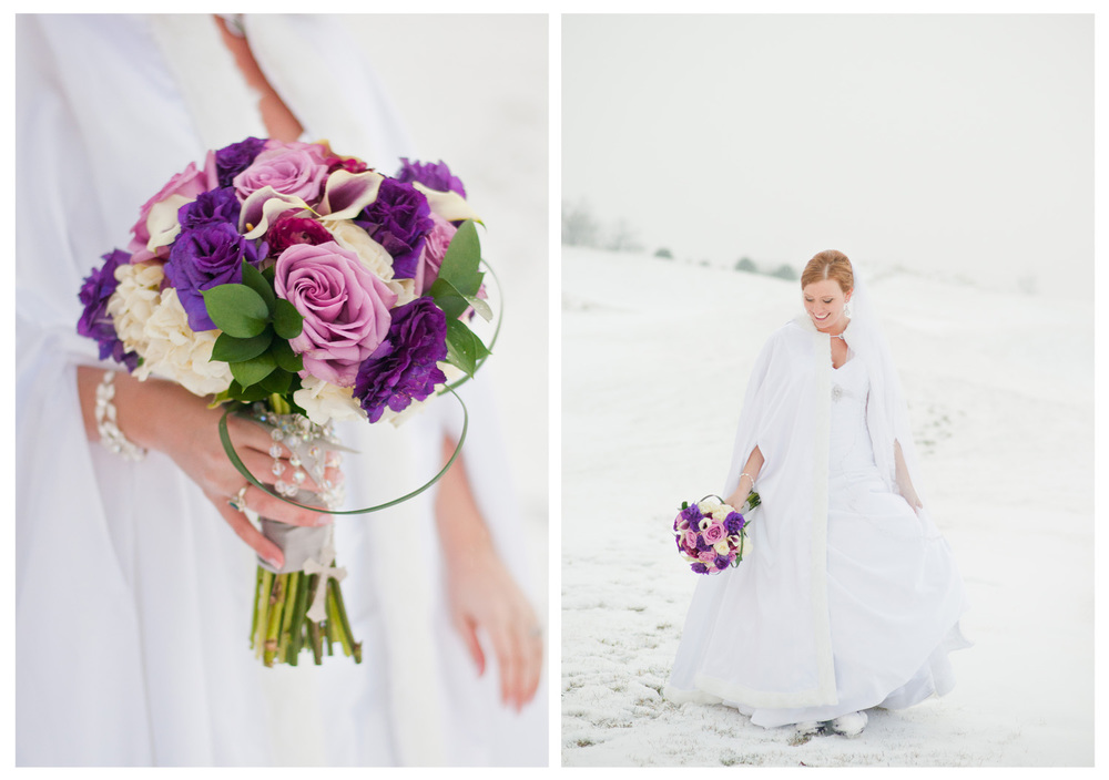 Michigan Winter Wedding