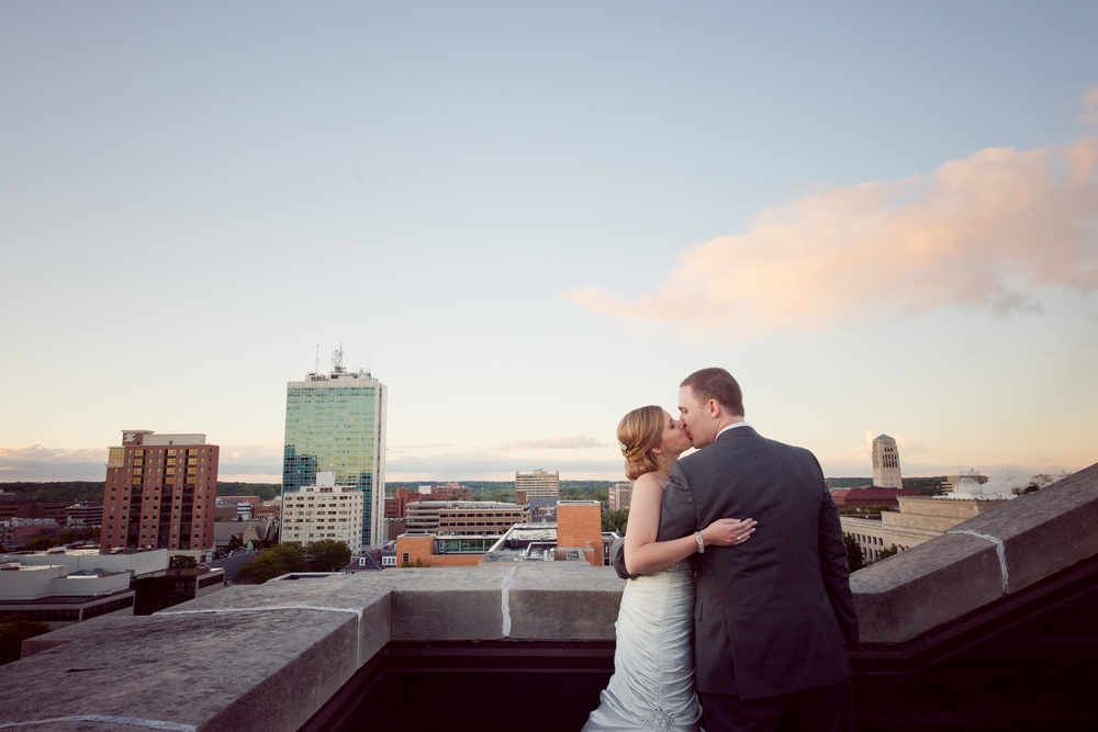 Downtown Ann Arbor Wedding