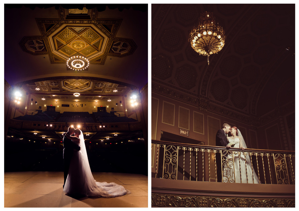 Michigan Theater Wedding