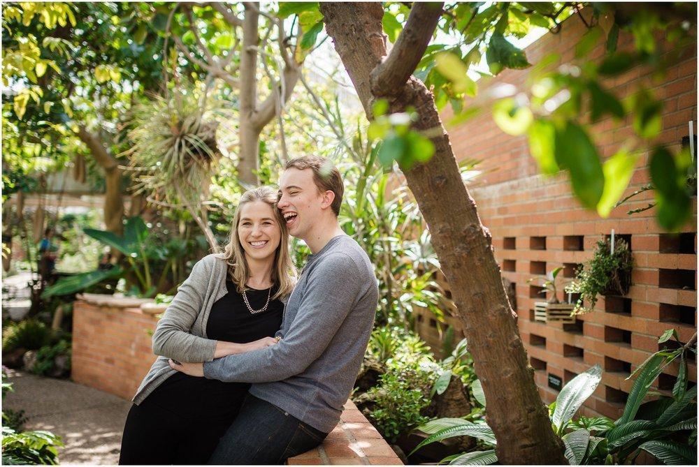 Matthaei Botanical Gardens Engagement Session