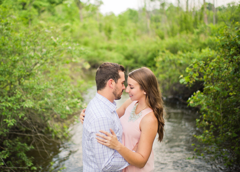 Devon & Bill A Summer Matthaei Botanical Gardens Engagement Session in Ann Arbor, Michigan