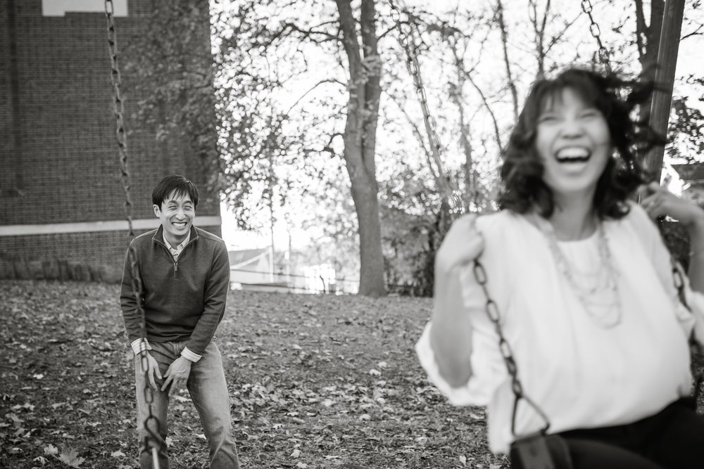A Fun Ann Arbor Engagement Session