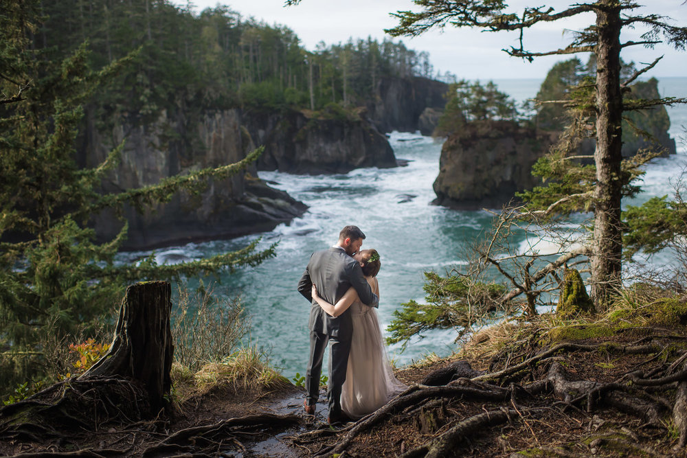 Cape Flattery Destination Elopement