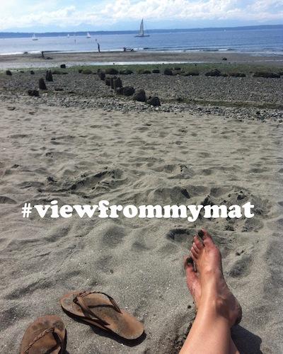 #viewfrommymat