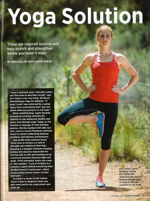 Yoga Solution Hit Reset In Womens Running Magazine Jasyoga