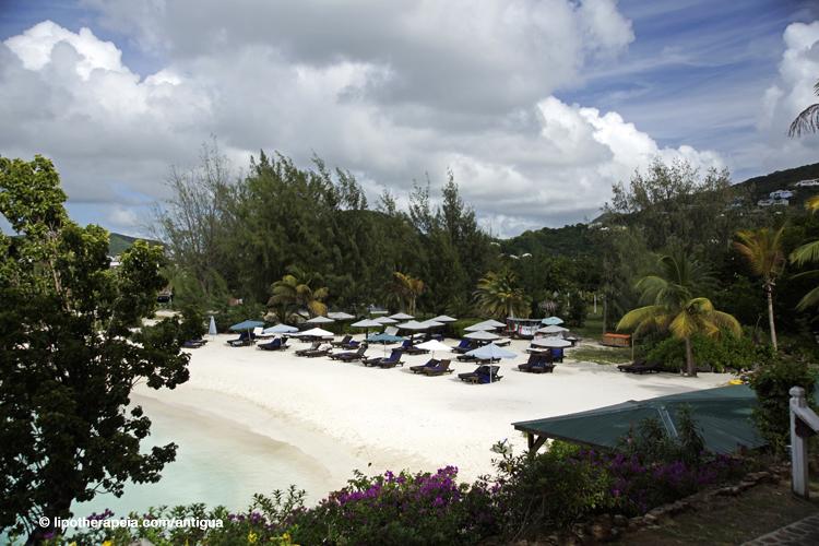 The Cocos hotel beach, Antigua