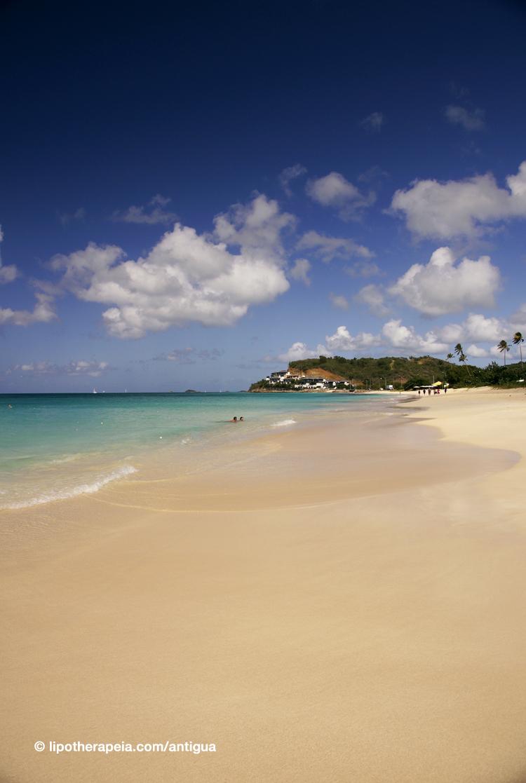 The dreamy Darkwood beach, Antigua
