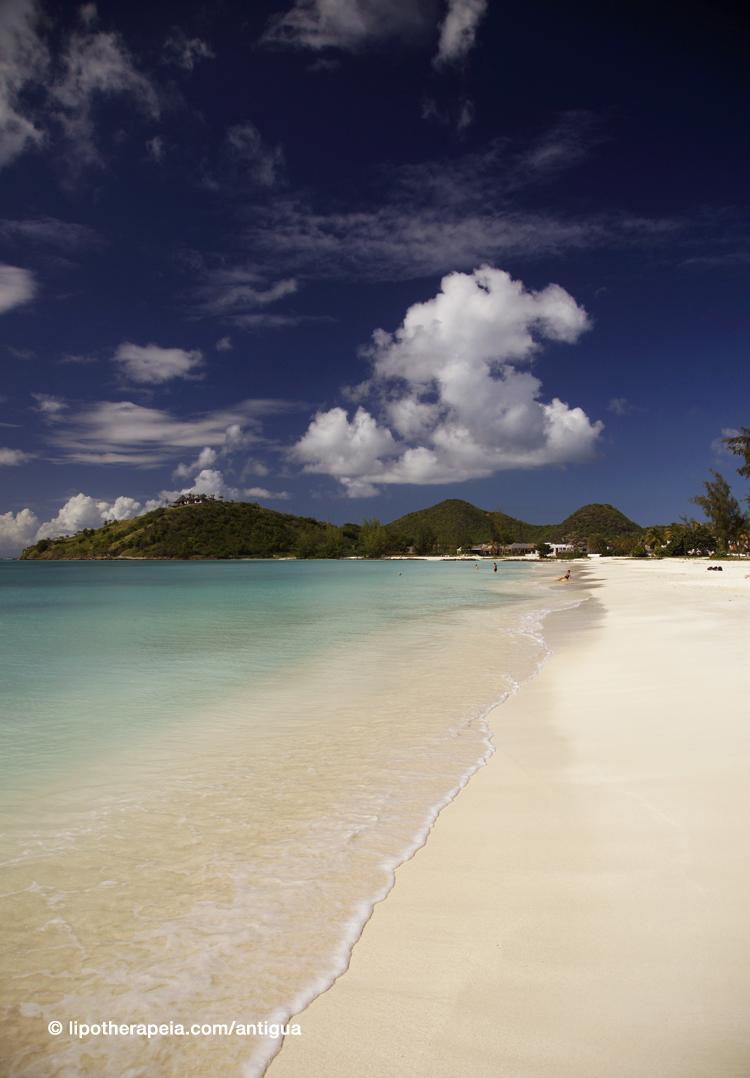 Jolly harbour beach,Antigua