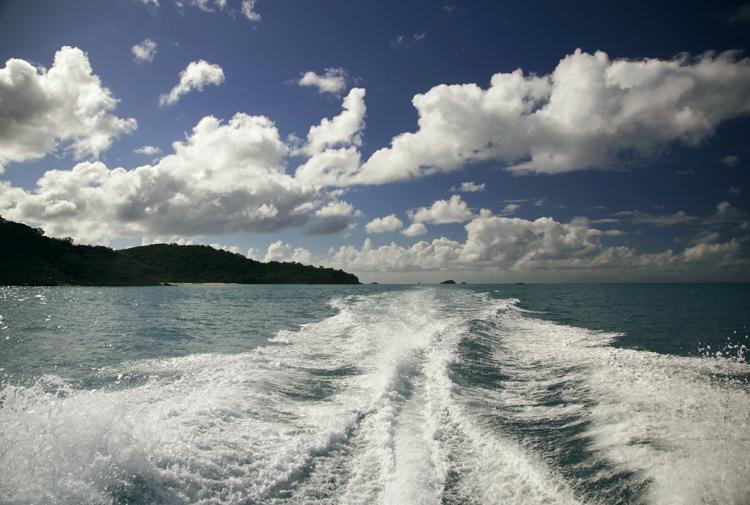 On the boat with Sea Escape, Antigua