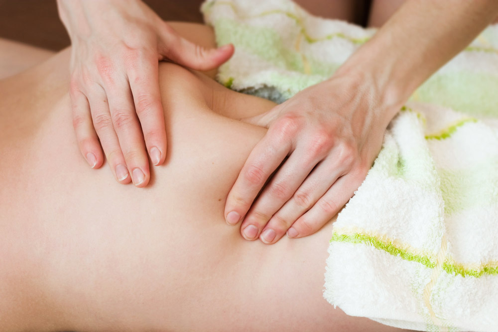 Strong cellulite massage