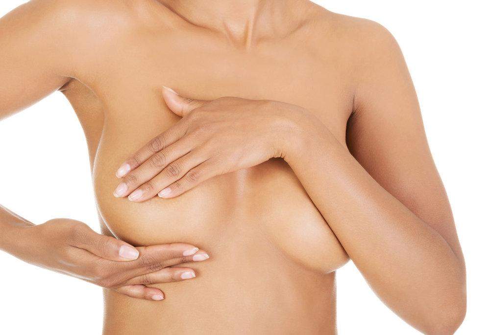 Decolletage/breast lift treatment London
