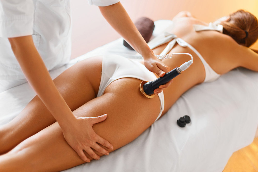 Cellulite / skin tightening treatments for models