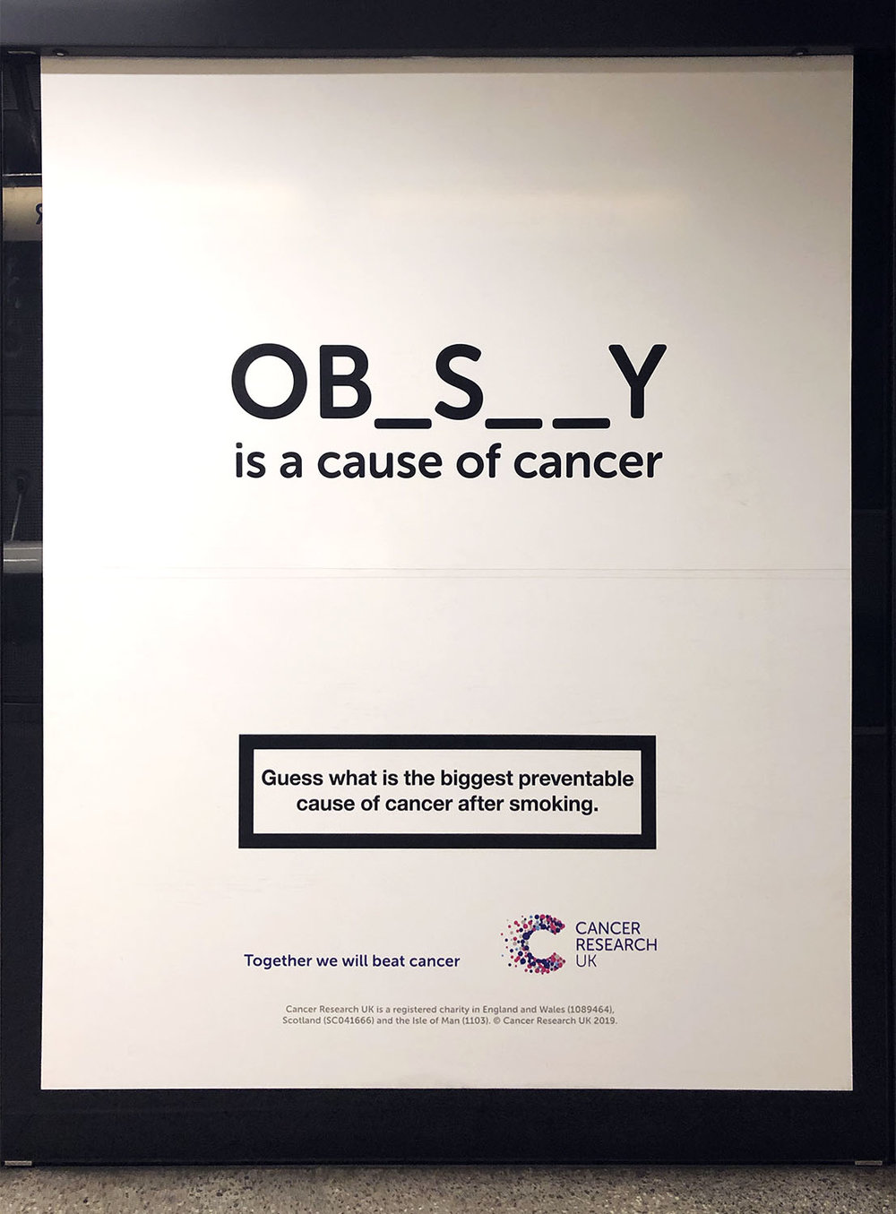 Obesity is a cause cancer