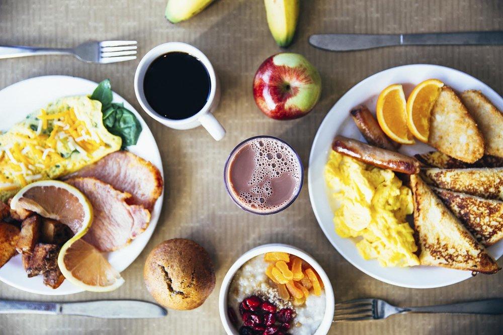 Breakfast doesn't make you slimmer