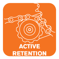 MRP active retention icon