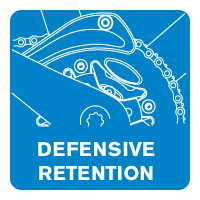 MRP defensive retention icon