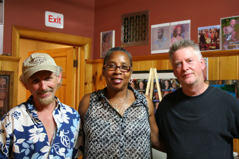 Larry Zuzik, Melody Moss and Timothy Herron