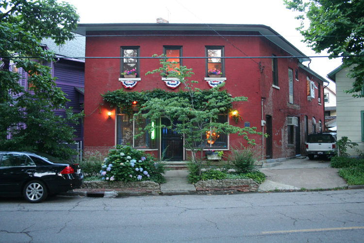 The Literary Cafe at 1031 Literary Ave.