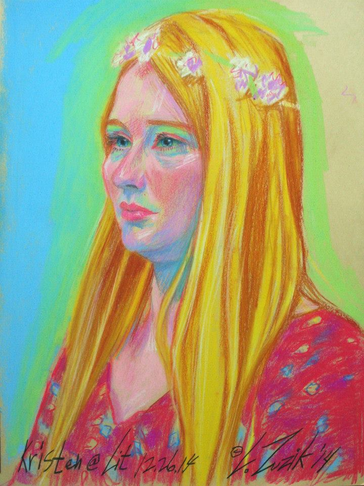 Larry Zuzik / 3hr Pastel