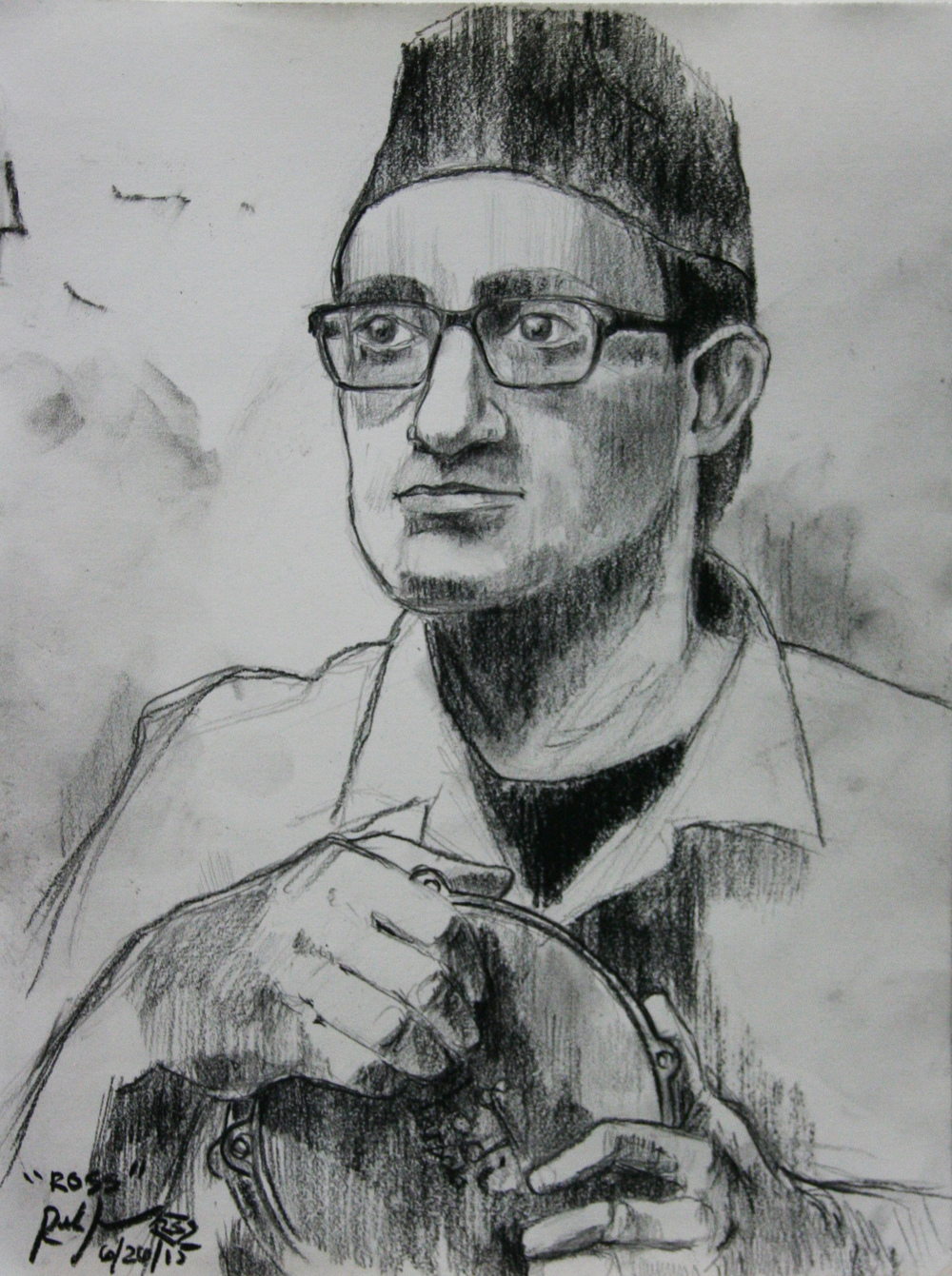 Ramesh Subramanium did this hour and a half drawing,