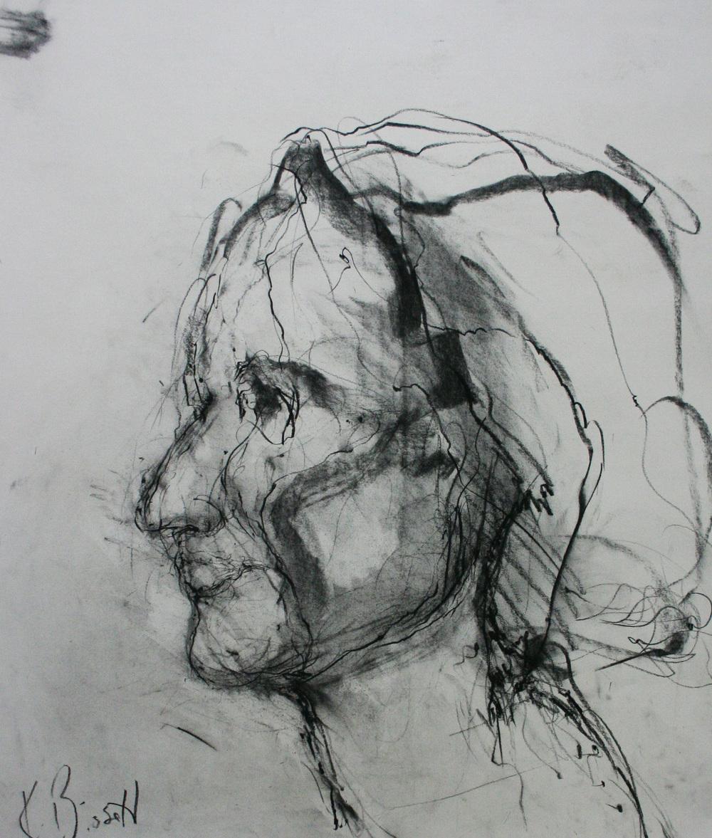 Kim Bissett did this half hour sketch.