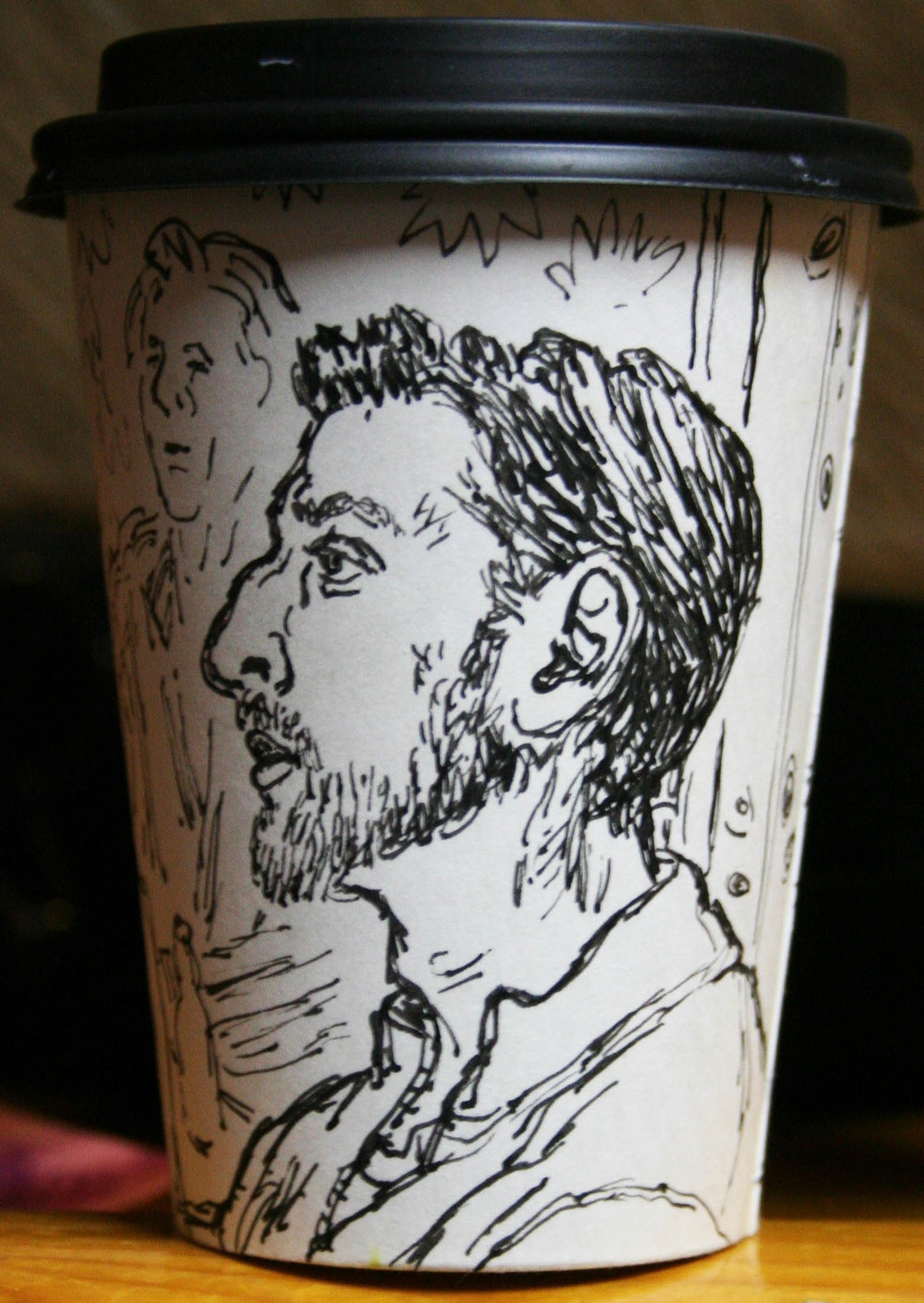 Jack Flotte's cup o' Tom (front view)