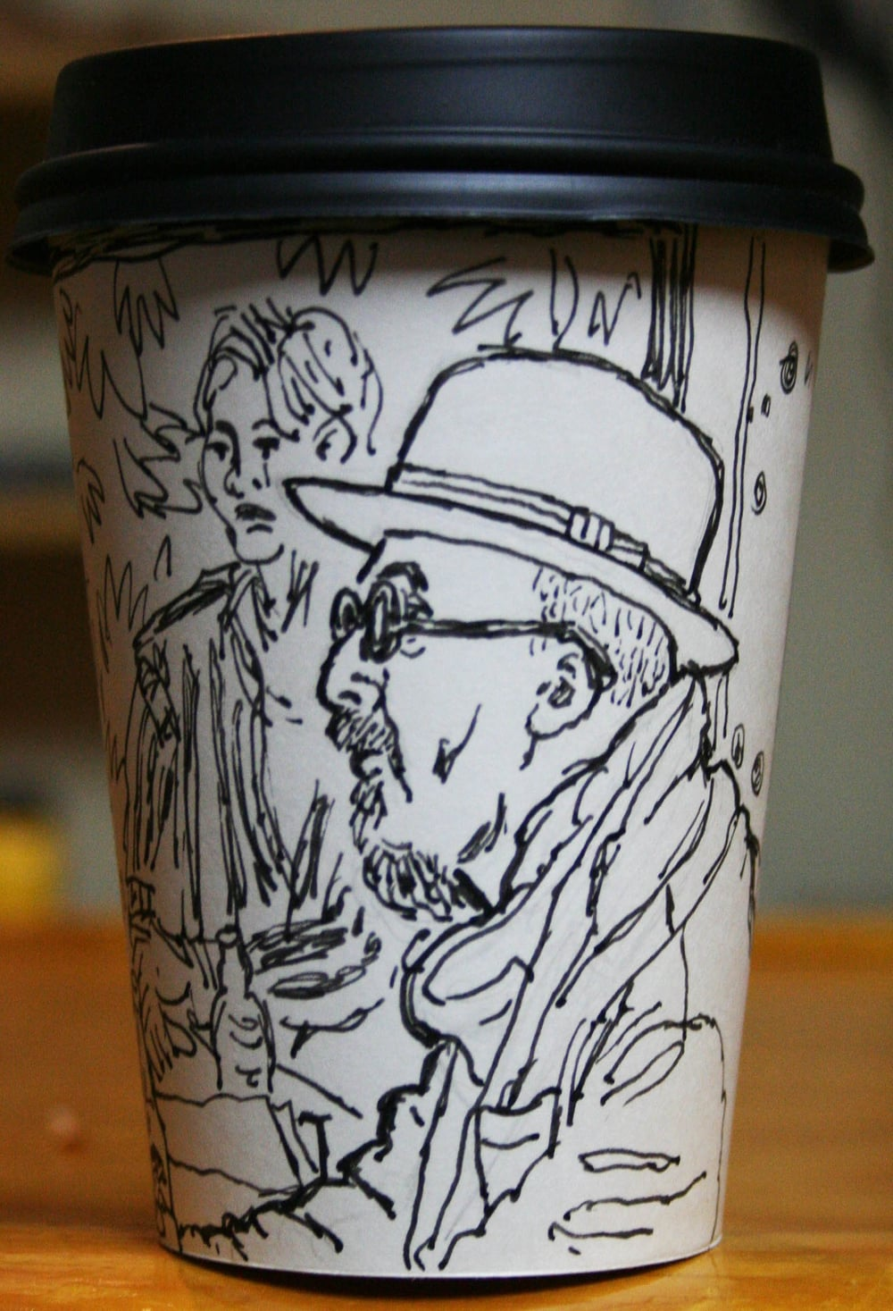 Jack Flotte did this Cup O' Rafael.