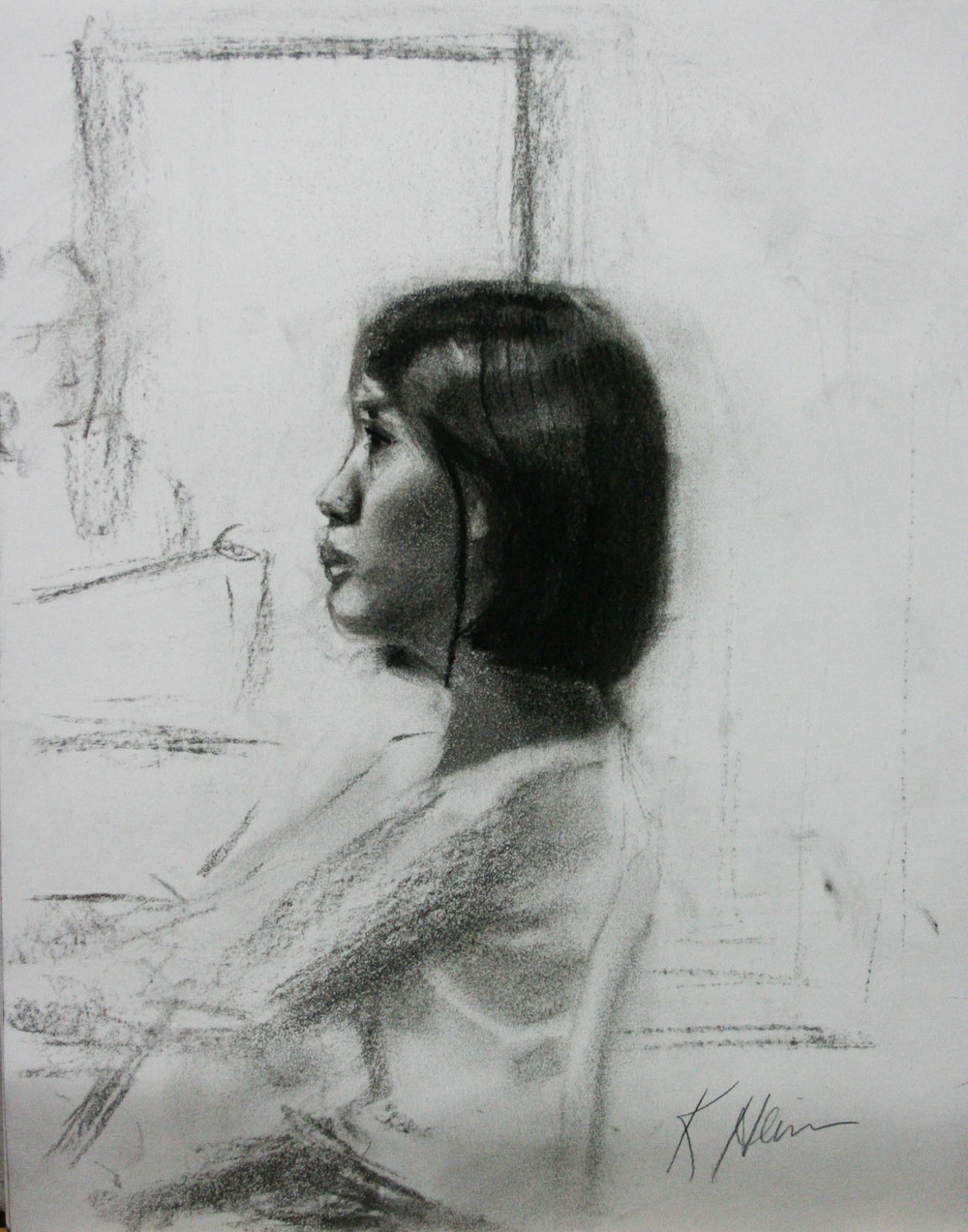 Kathryn Heim did this half hour sketch.