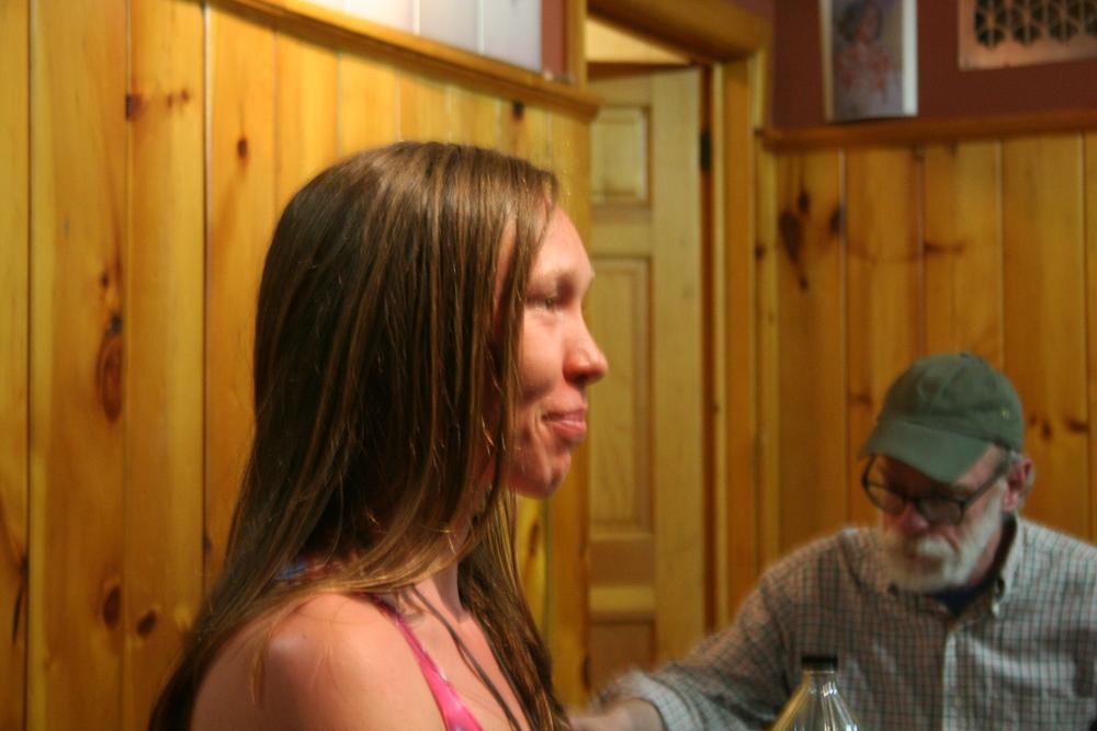 Profile of Kirsten.