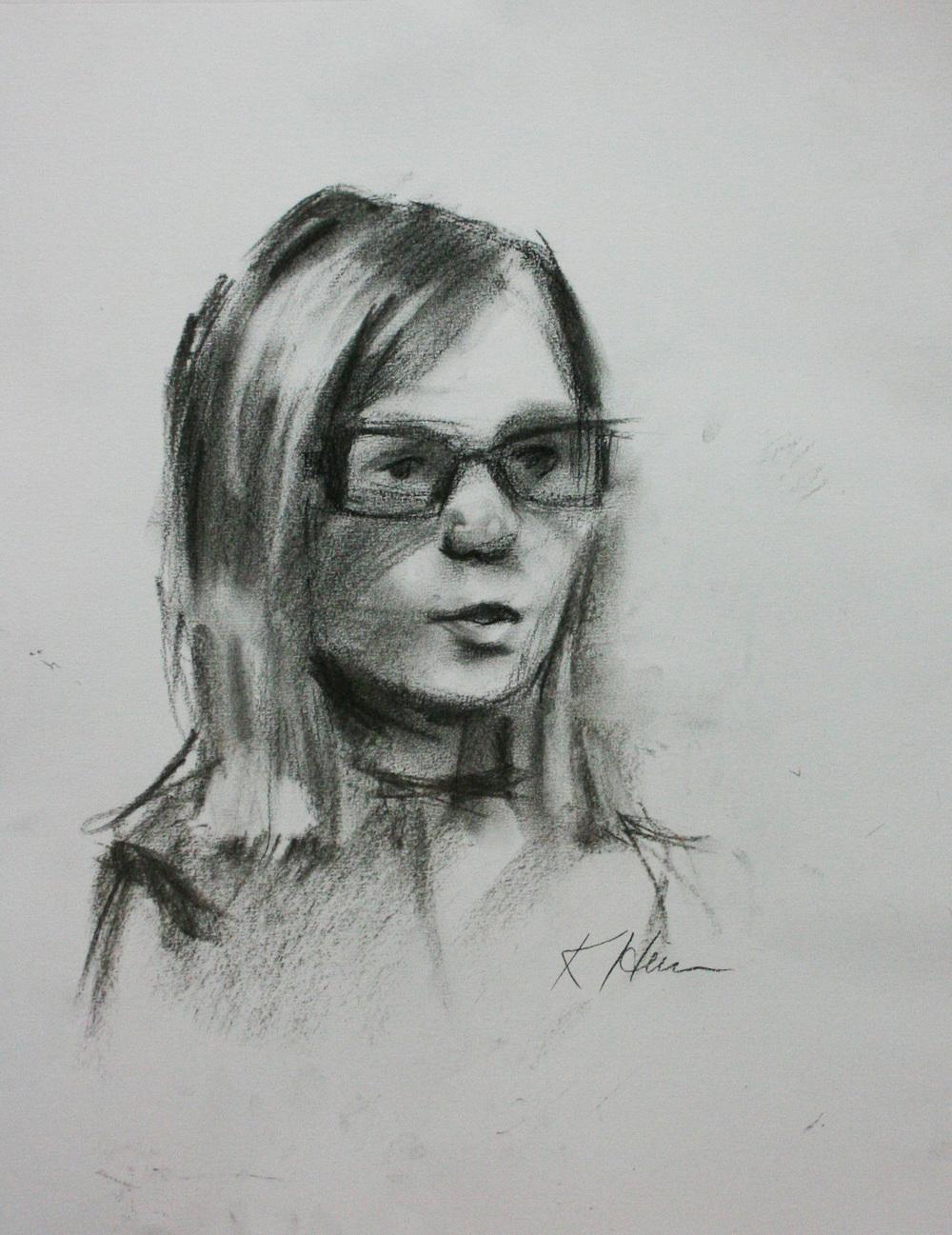 Kathryn Heim did this 15 minute sketch.