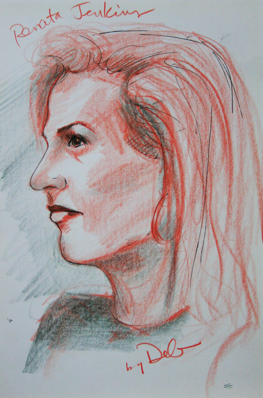 Deb Steytler did this 45-minute drawing.
