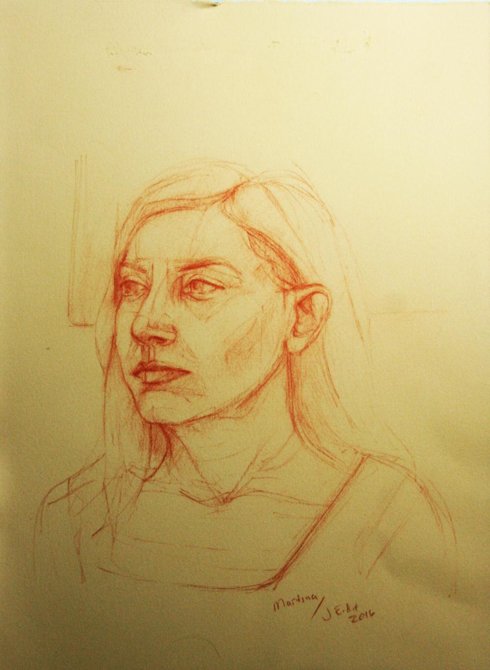 Jeff Erdie did this 3-hour drawing.