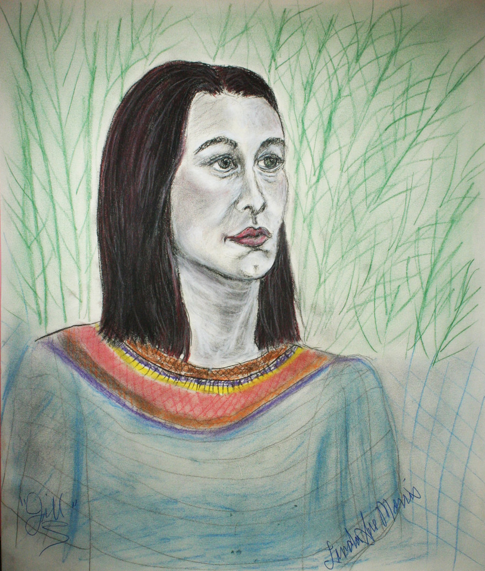 Linda Sue Morris did this 2-hour drawing.