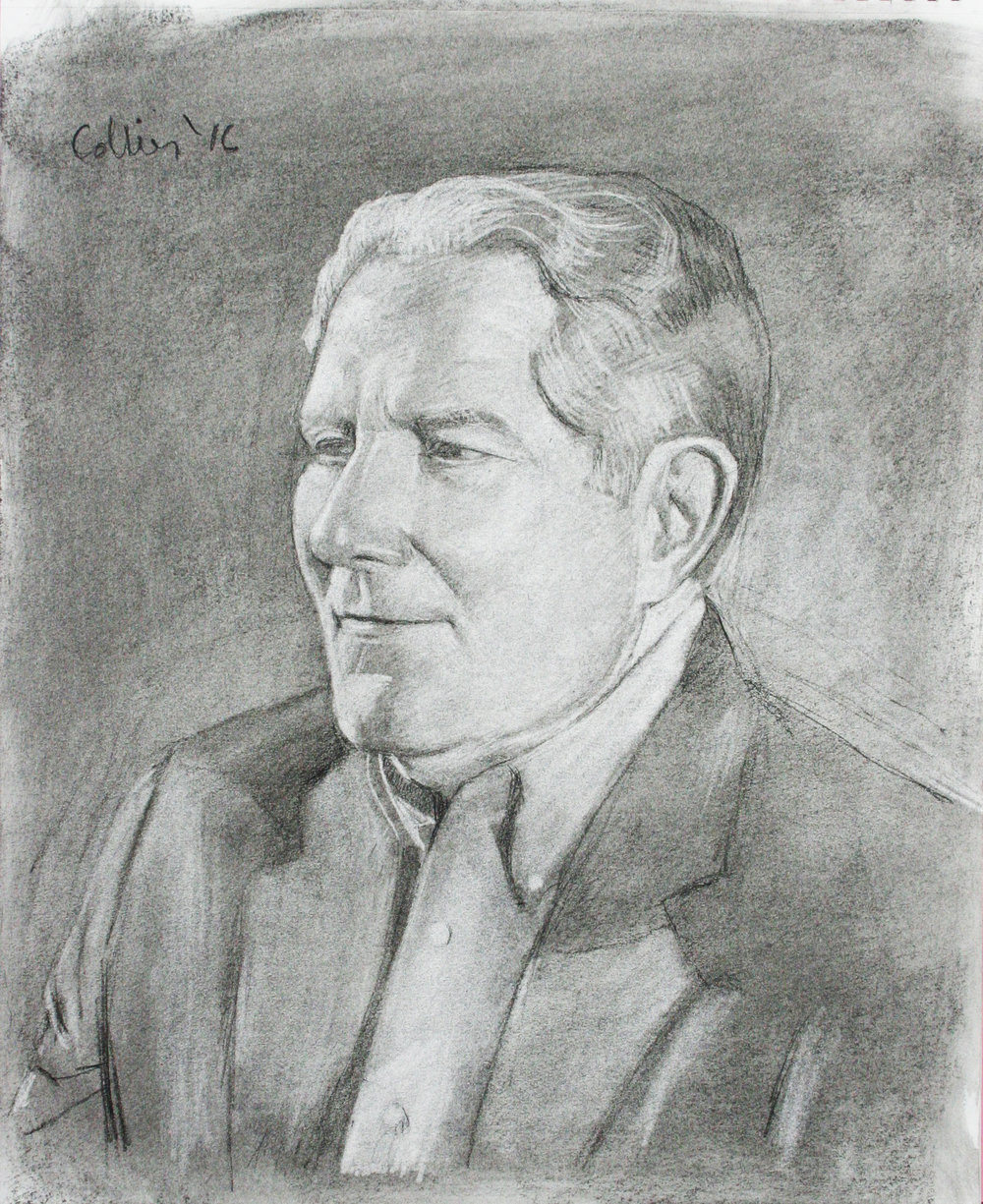 Howard Collier did this 3-hour graphite drawing.