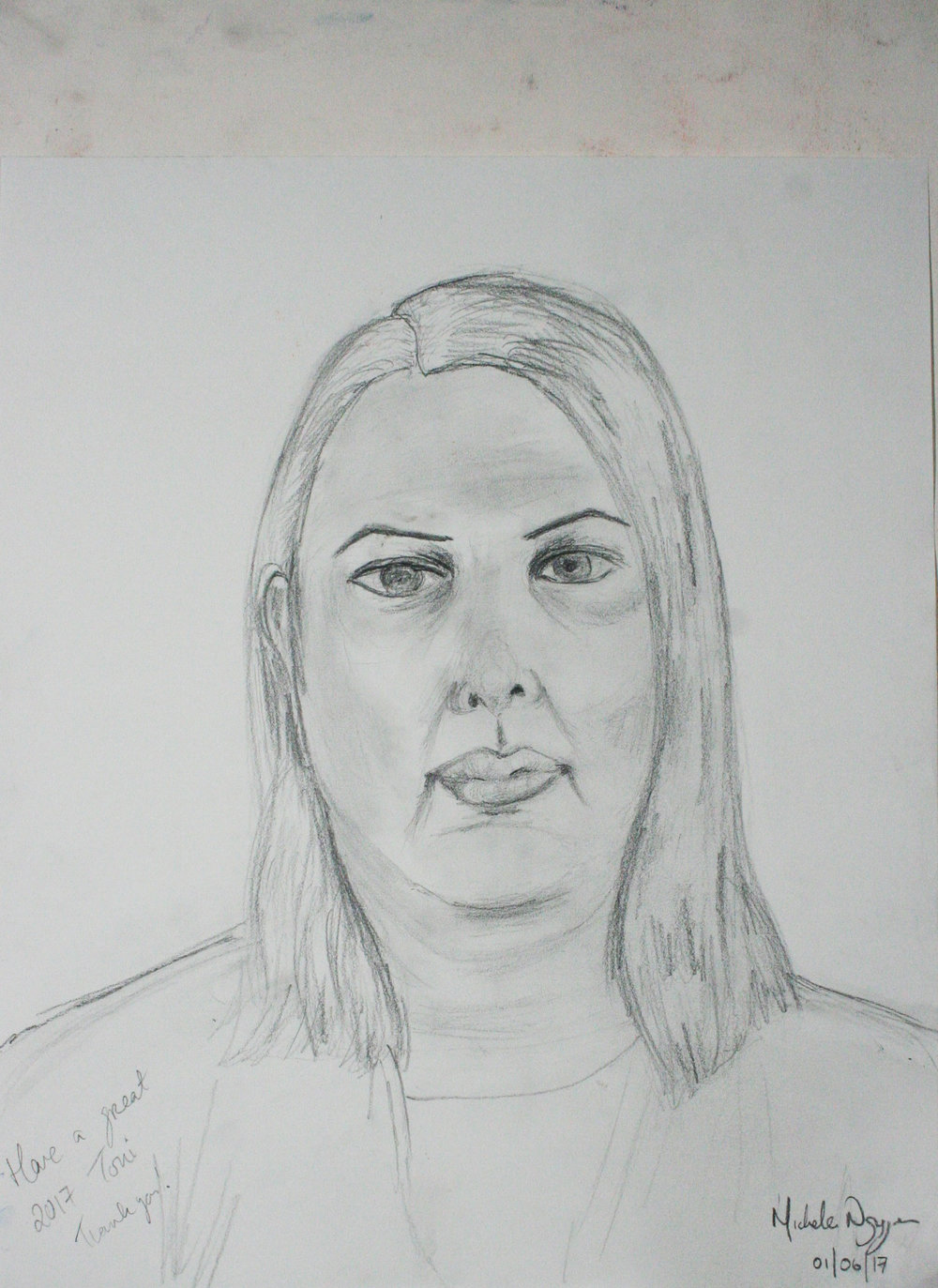 Michelle Leyden Nguyen did this hour drawing.