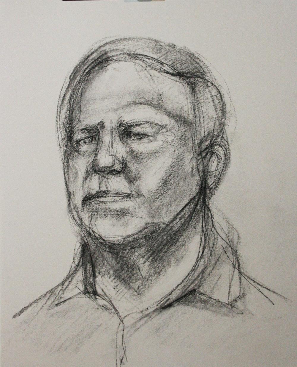 Jeff Erdie did this half hour sketch.