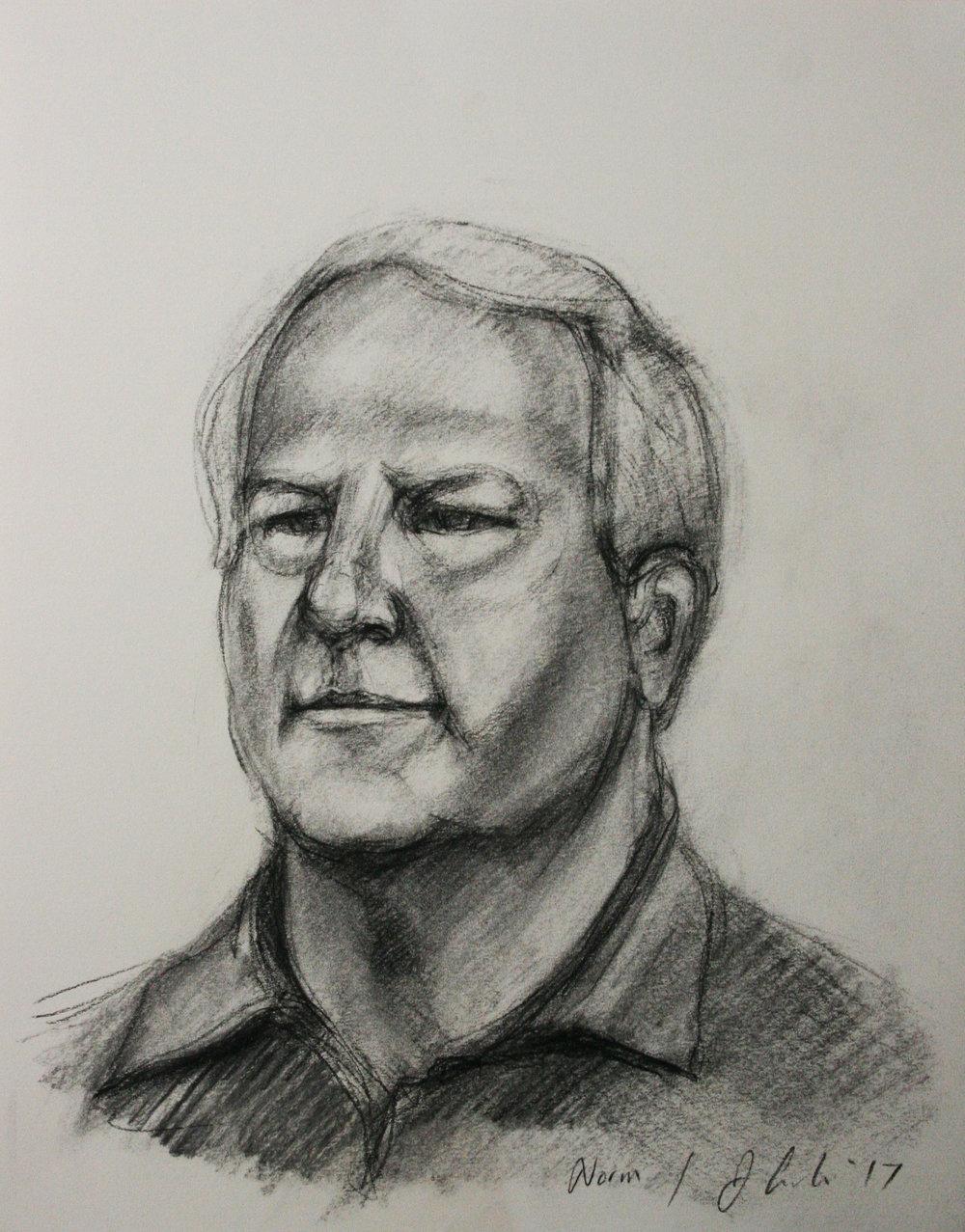 Jeff Erdie did this 2-hour drawing.