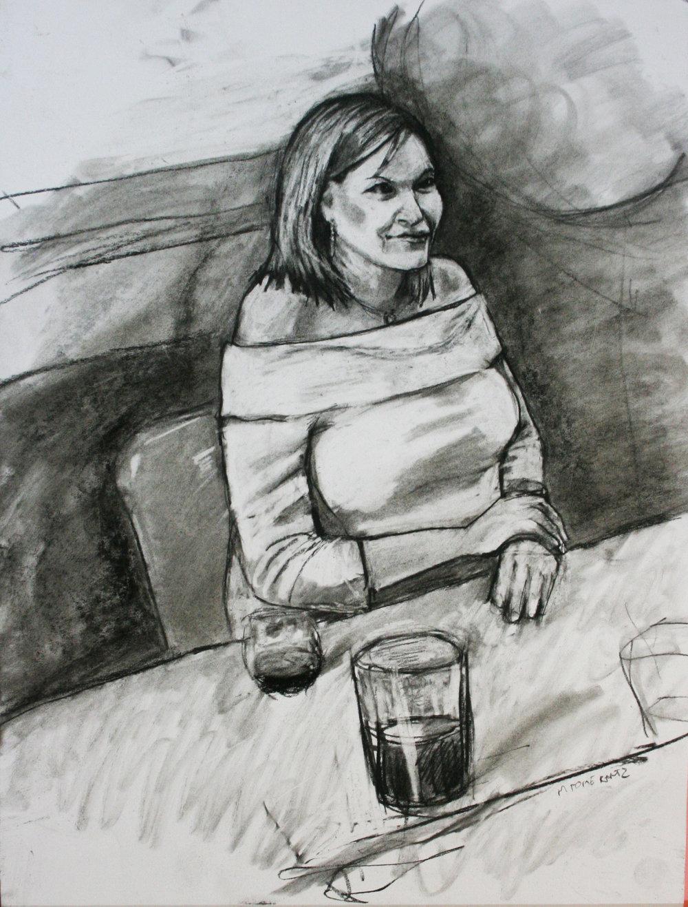 Michael Polmerantz did this 3-hour drawing.