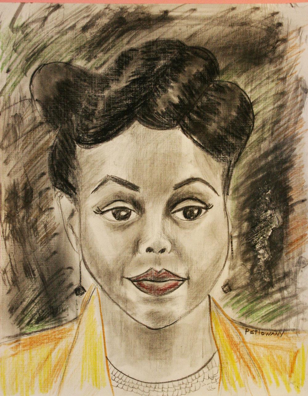 Paula Petlowany did this drawing.