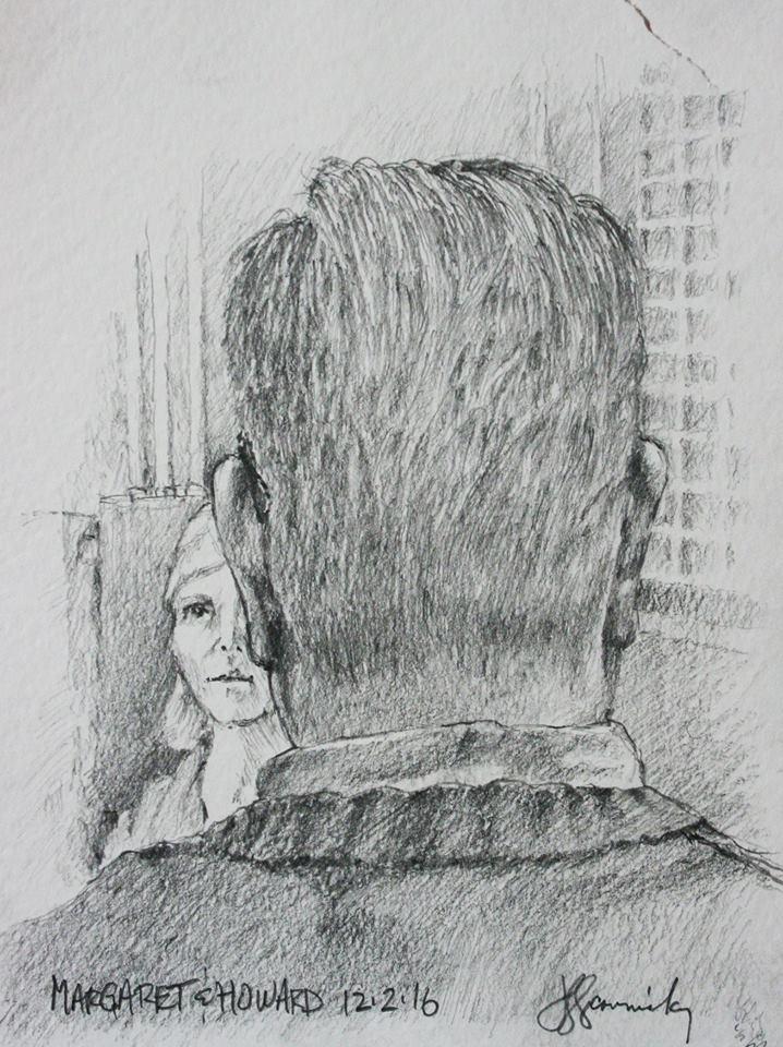 Back of Howard's head