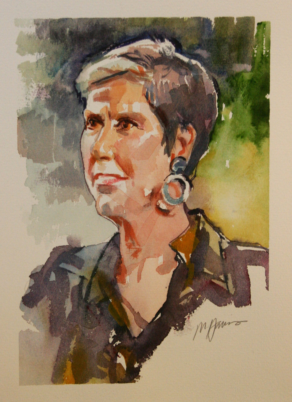 Melissa Harris did this watercolor.